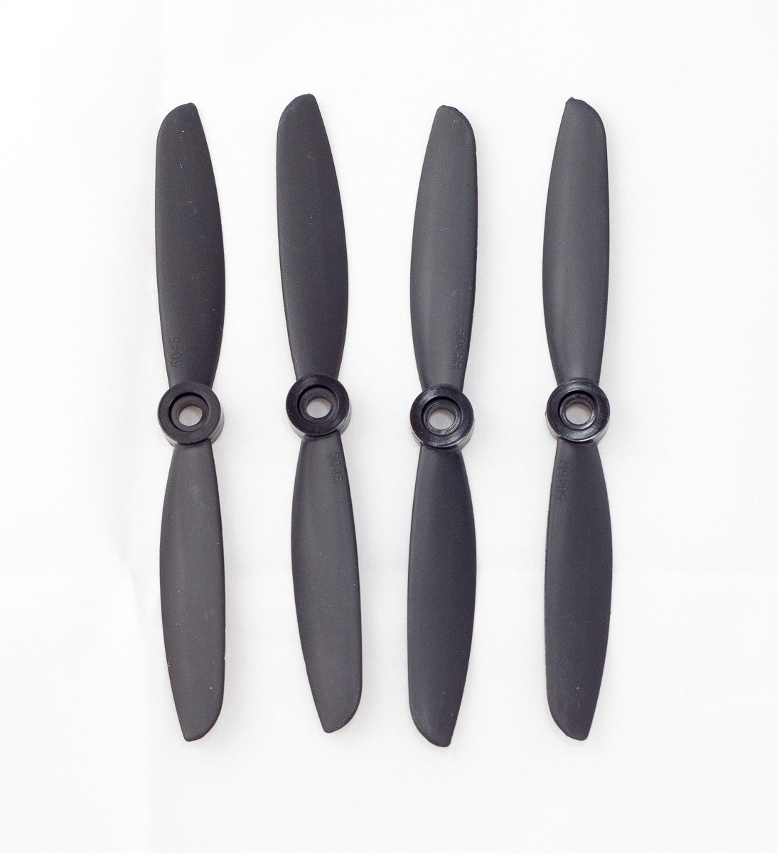 4x Gemfan 5045 Carbon+Nylon Black