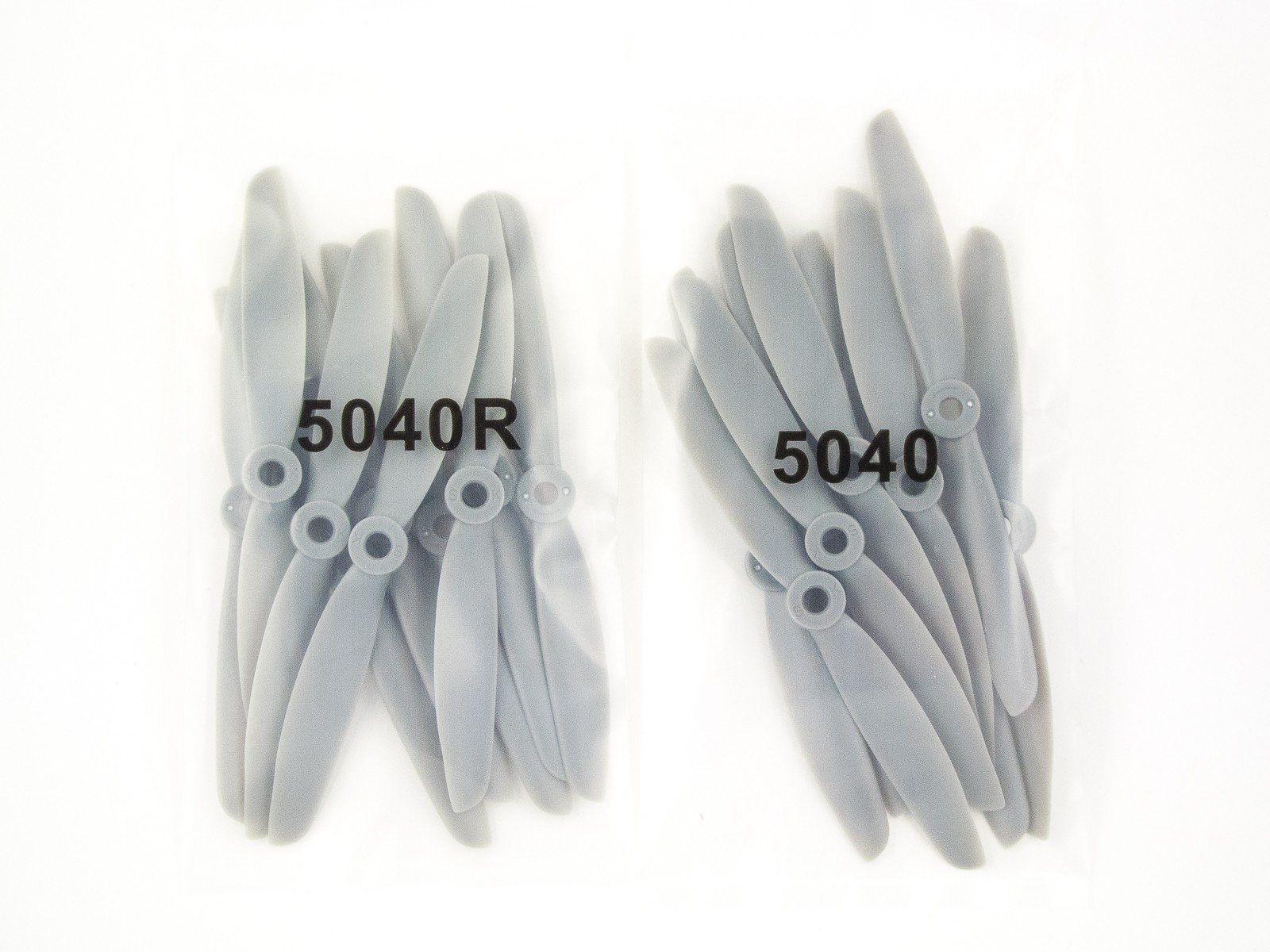 20x Kingkong 5040 propellers CW + CCW gray