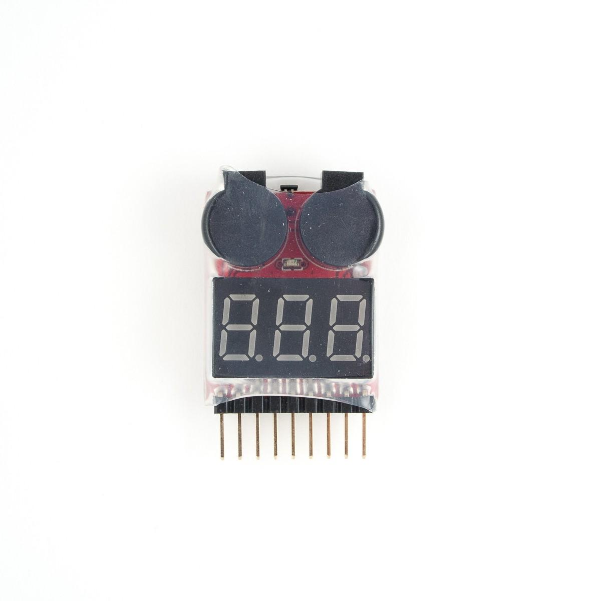 Lipo Cell Voltage Tester Low Alarm Fpvee Circuit