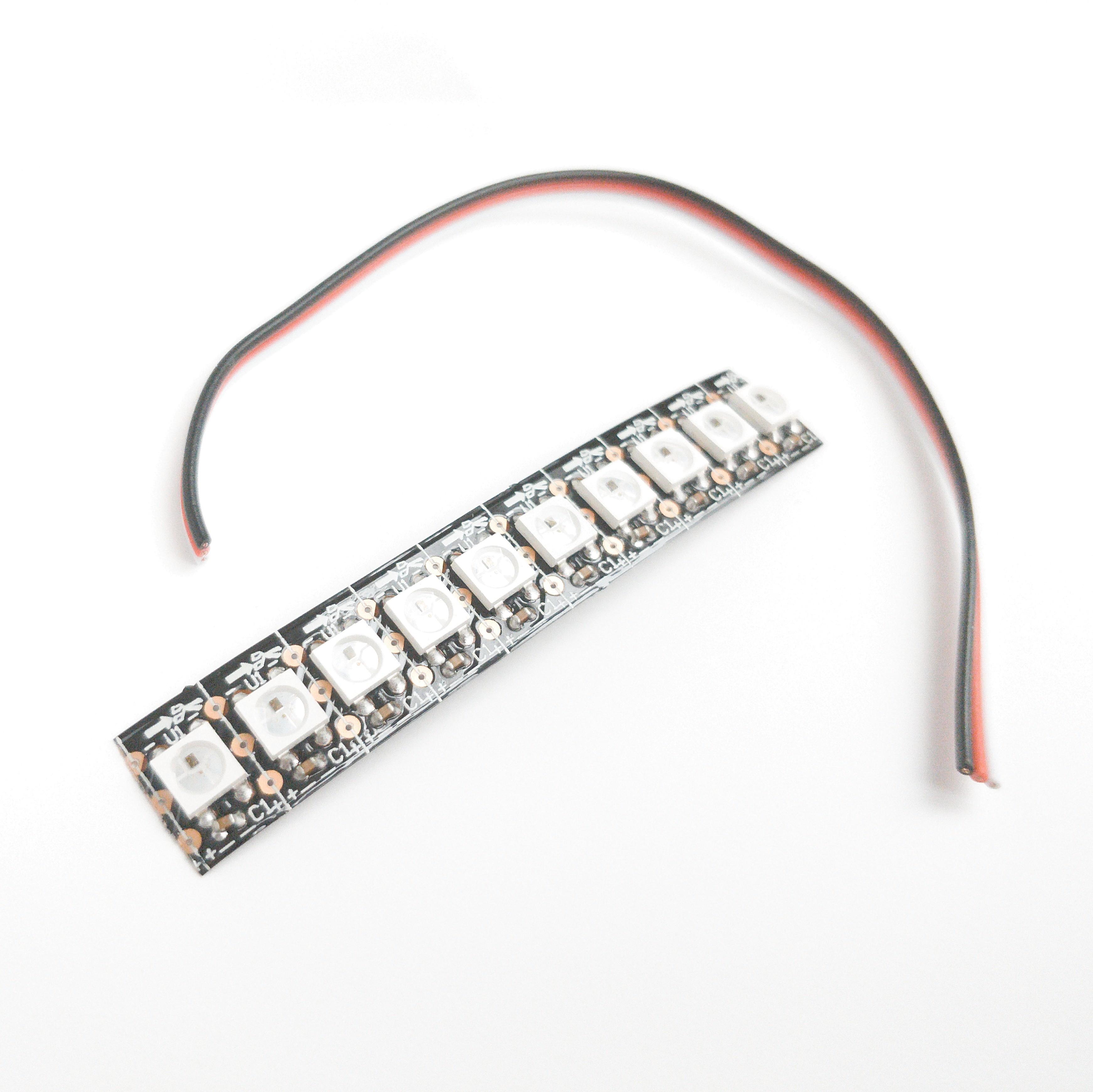 Generic addressable smart RGB LED strip WS2812B 144/m