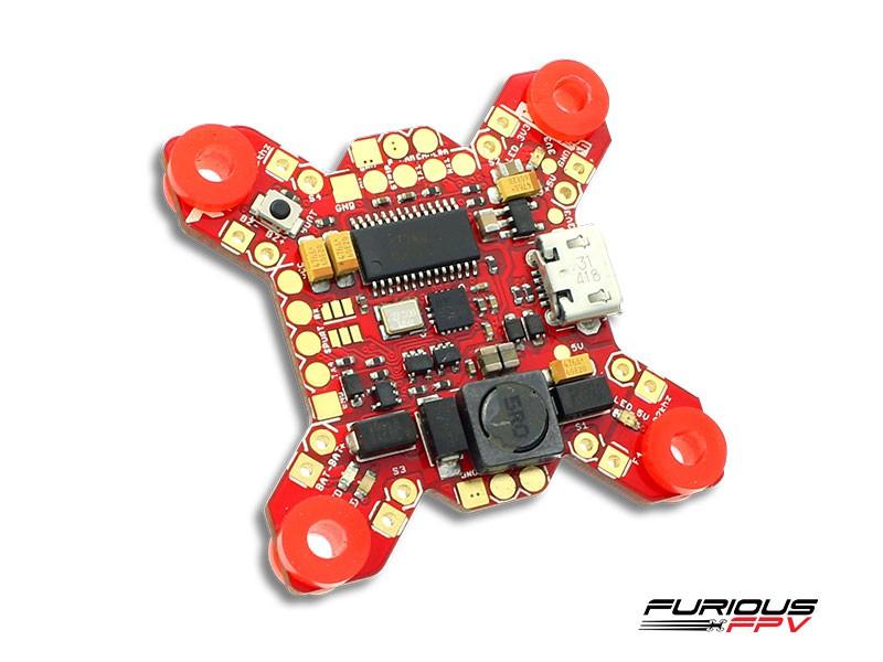 Furious FPV Fortini F4 OSD 32khz flight controller