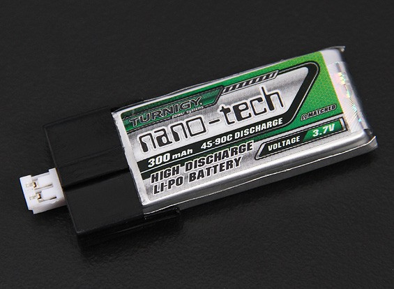 Turnigy Nanotech 1S 3.7V 300mah 45C