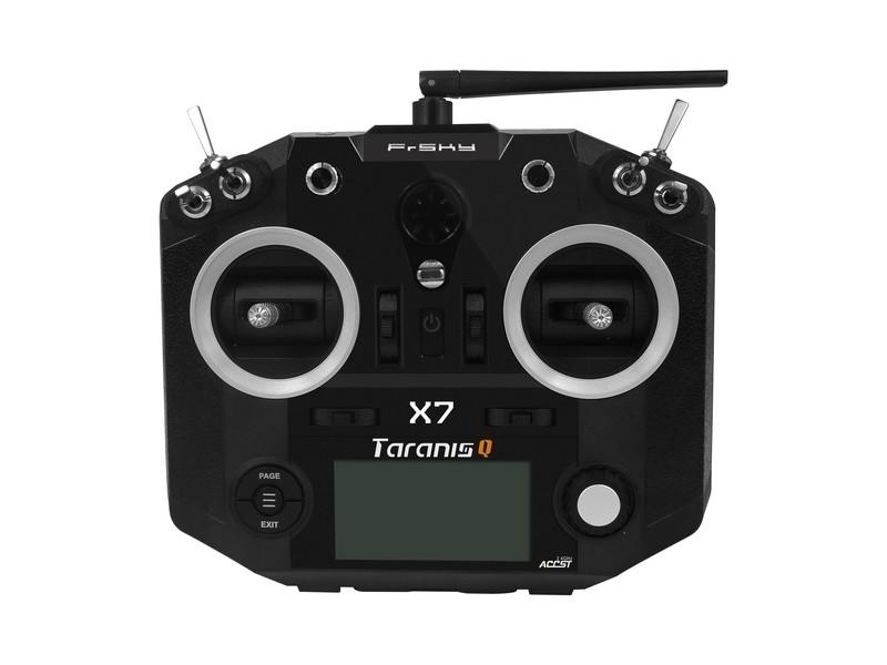 FrSky Taranis Q X7 telemetry transmitter black