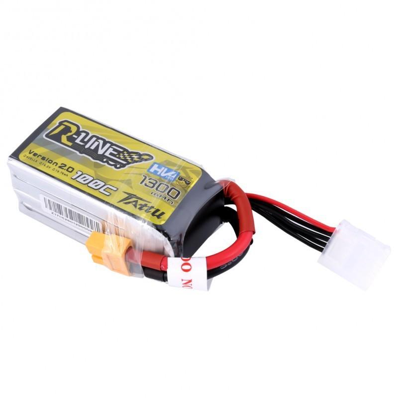 TATTU R-Line 1300mAh 4S 100C LiHV Battery