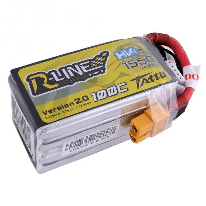 TATTU R-Line 1550mAh 4S 100C LiHV Battery