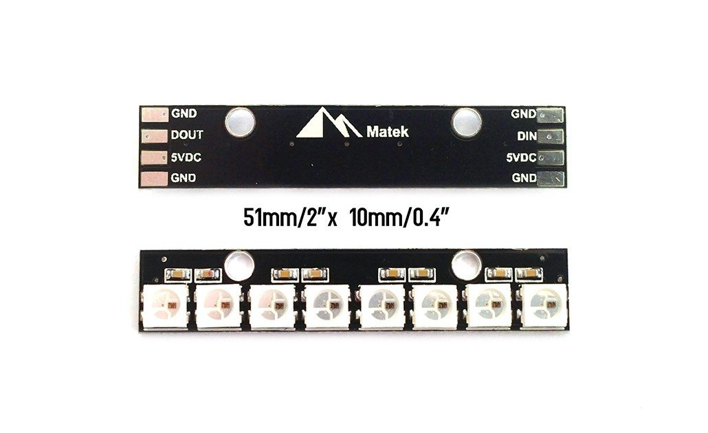 Matek smart RGB LED board WS2812B
