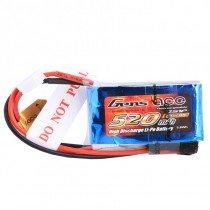 GensACE 520mAh 2S 7.4V 30C LiPo Battery