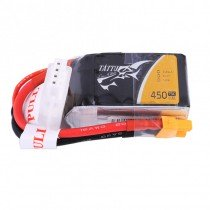 TATTU 450mAh 3S 75C 11.1V LiPo Battery