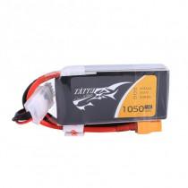TATTU 1050mAh 4S 14.8V 75C LiPo Battery
