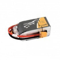 TATTU 4S 1550mAh 14.8V 75C Lipo battery
