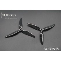 4x HQProp Durable 6X3X3 PC Black