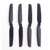 4x Gemfan 6030 Carbon+Nylon Black