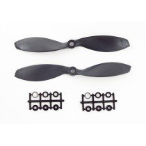 2x Gemfan 7038 Carbon+Nylon Black