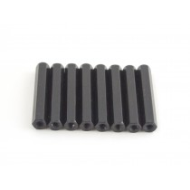 35mm hex steel M3 standoff black 8pcs