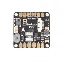 BeeRotor PDB v2 w/ 5V & 12V BEC + vbat + current sensor