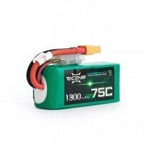 ACEHE 1300mAh 4S 75C 14.8V LiPo Battery