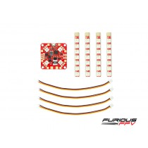 FuriousFPV Lightning PDB with single-row LED strip