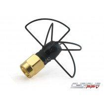 Furious FPV Antenna Pinwheel 5.8Ghz Super Short (Black)