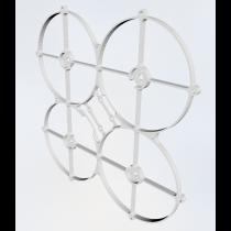 """Oliver v2 3"""" micro brushless frame 3D print"""