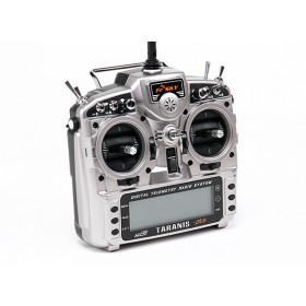 FrSky Taranis X9D Plus transmitter with aluminium case