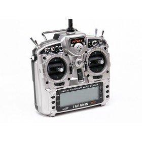 FrSky Taranis X9D Plus transmitter with aluminium case
