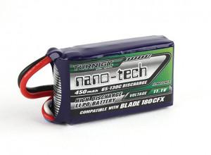 Turnigy Nanotech 3S 11.1V 450mah 65C