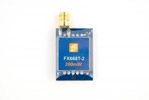 FXT 5.8G 40CH 200mW raceband A/V transmitter