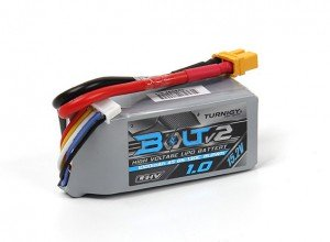 Turnigy Bolt V2 4S 1000mah 15.2V 65C LiPo battery