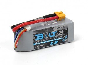 Turnigy Bolt V2 4S 1300mah 15.2V 65C LiPo battery