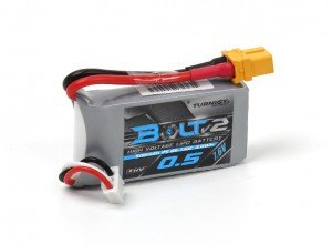 Turnigy Bolt V2 2S 500mah 7.6V 65C LiPo battery