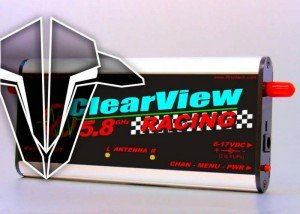 Clearview Racing TBS Edition 5.8ghz video receiver