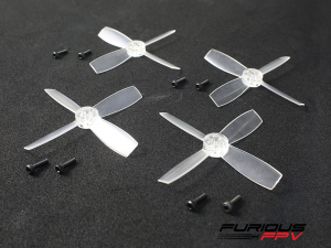 4x Furious FPV High Performance 2035 Propellers Transparent