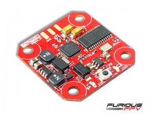 Furious FPV INNOVA V4 OSD-VTX adjustable 25/200mW board 20x20mm