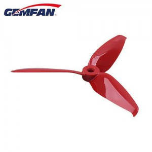 4x Gemfan Flash 5152 3-blade pc propeller different colors