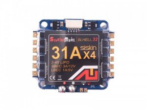 Sunrise Siskin 31A BLHeli_32 4-in-1 ESC 2-4S 5V 12V