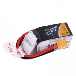 TATTU 450mAh 4S 75C 14.8V LiPo Battery