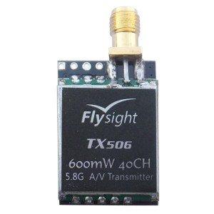 Flysight TX506 5.8 GHz 40ch 600mW VTX A/V Transmitter