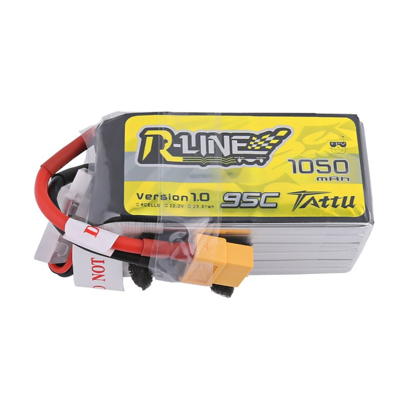 TATTU R-Line 1050mAh 6S 95C LiPo Battery
