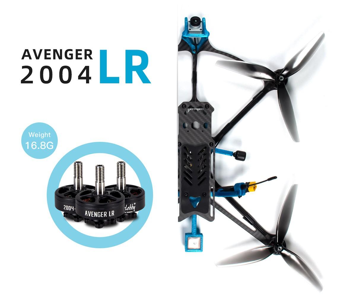 Brotherhobby Avenger LR 2004 1650kv
