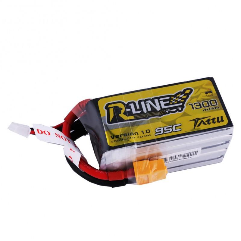 TATTU R-Line 1300mAh 5S 95C LiPo Battery