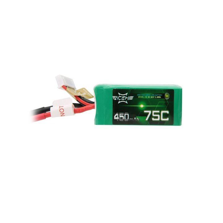 ACEHE 450mAh 4S 75C 14.8V LiPo Battery