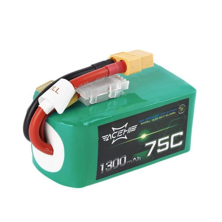 ACEHE 1300mAh 5S 75C 18.5V LiPo Battery