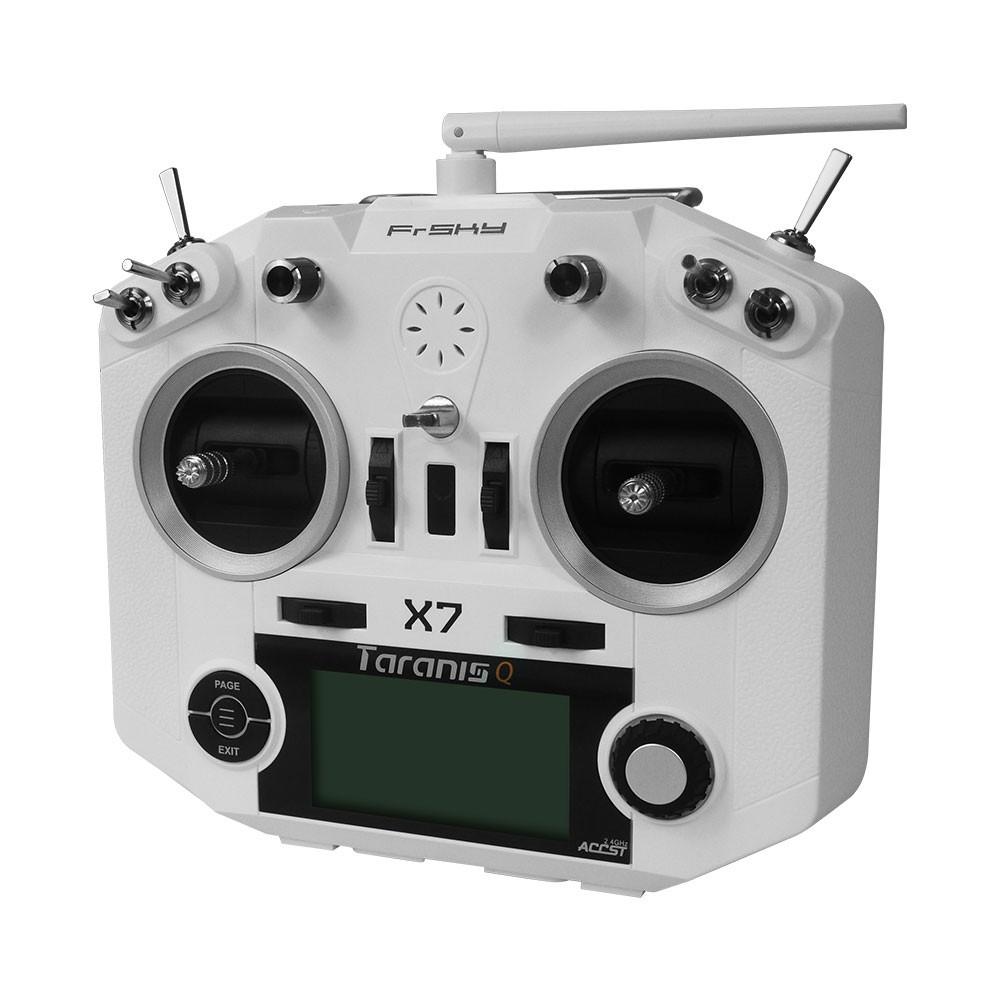 FrSky Taranis Q X7 telemetry transmitter white