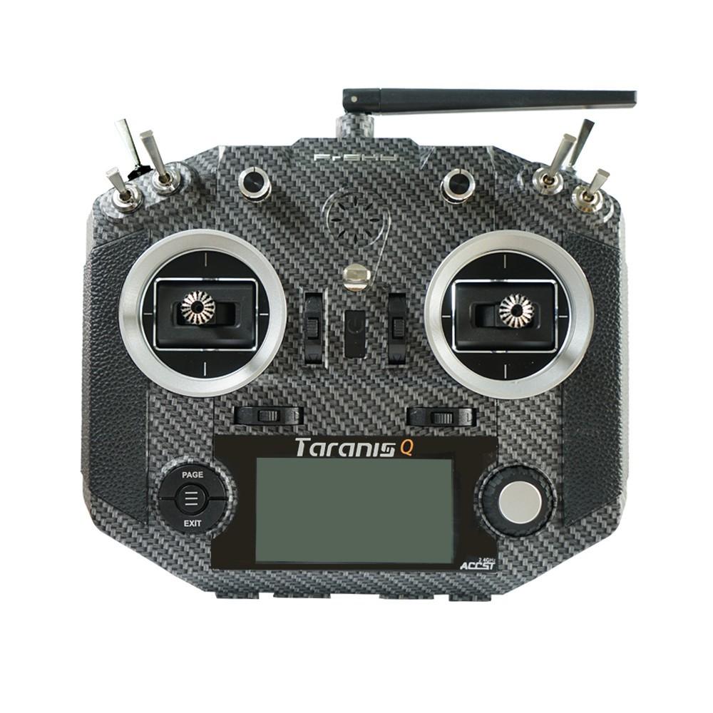 FrSky Taranis Q X7S telemetry transmitter carbon