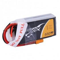TATTU 650mAh 3S 75C 11.1V LiPo Battery