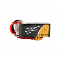 TATTU 1300mAh 4S 14.8V 45C LiPo Battery