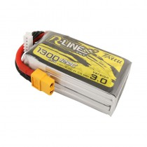 TATTU R-Line v3.0 1300mAh 4S 120C LiPo Battery