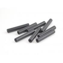 30mm round aluminium M3 standoff black 8pcs