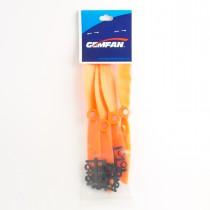 4x Gemfan 6045 ABS Orange CW ONLY