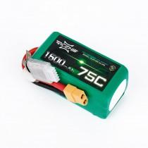 ACEHE 1500mAh 4S 75C 14.8V LiPo Battery